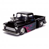 Imagem - Miniatura Carro Chevrolet Stepside Pickup (1955) - Just Trucks - Preto - 1:24 - Jada Toys