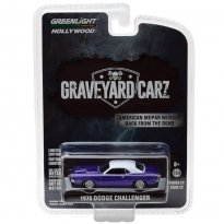 Imagem - Miniatura Carro Dodge Challenger (1970) - Graveyard Carz - Hollywood - 1:64 - Greenlight
