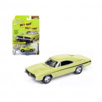 Imagem - Miniatura Carro Dodge Charger R/T (1969) - Muscle Cars U.S.A - Verde -  1:64 - Johnny Lightning
