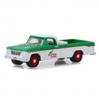 Imagem - Miniatura Picape Dodge D-100 (1962) - Turtle Wax - Running On Empty - Série 7 - 1:64 - Greenlight