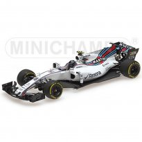 Imagem - Miniatura Fórmula 1 Williams Martini Racing Mercedes FW40 - #18 L. Stroll - (2017) - 1:43 - Minichamps