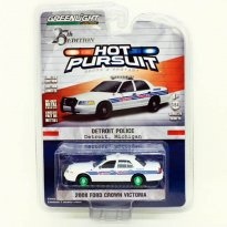 Imagem - Miniatura Carro Ford Crown Victoria (2008) - Polícia - Hot Pursuit - 1:64 - Greenlight (Chase / Green Machine)