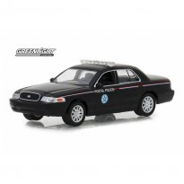 Imagem - Miniatura Carro Ford Crown Victoria Police Interceptor (2010) - USPS - Exclusive - 1:64 - Greenlight