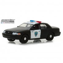 Imagem - Miniatura Carro Ford Crown Victoria Interceptor - Polícia (2008) - Hot Pursuit - Série 30 - 1:64 - Greenlight