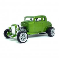 Imagem - Miniatura Carro Ford Custom (1932) Hot Rod - Gas Monkey Garage - Verde - 1:18 - Greenlight Collectibles