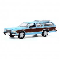 Imagem - Miniatura Carro Ford Mercury Grand Marquis Colony Park (1983) - Estate Wagons - Série 5 - 1:64 - Greenlight