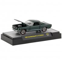 Imagem - Miniatura Carro Ford Mustang GT 2+2 Fastback (1965) - Detroit-Muscle - 1:64 - M2 Machines