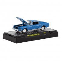 Miniatura Carro Ford Mustang GT 390 (1968) - Detroit-Muscle - 1:64 - M2 Machines