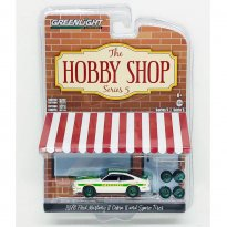 Imagem - Miniatura Carro Ford Mustang II Cobra II (1978) - The Hobby Shop - 1:64 - Greenlight (Chase / Green Machine)