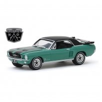 Imagem - Miniatura Carro Ford Mustang - Ski Country Special (1967) Exclusive - 1:64 - Greenlight