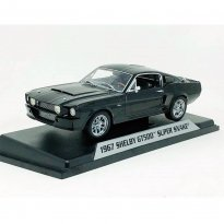 Imagem - Miniatura Carro Ford Shelby GT500 Super Snake (1967) - Preto - 1:18 - Shelby Collectibles