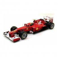 Imagem - Miniatura Fórmula 1 Ferrari F2012 - #6 Felipe Massa (2012) - 1:18 - Hot Wheels Racing