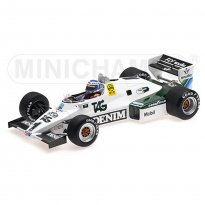 Imagem - Miniatura Fórmula 1 Williams Ford FW08C - #1 K. Rosberg - Winner Monaco - GP 1983 - 1:18 - Minichamps