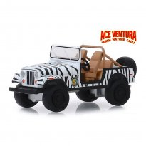 Imagem - Miniatura Carro Jeep CJ-7 (1976) - Ace Ventura - Hollywood - Série 25 - 1:64 - Greenlight
