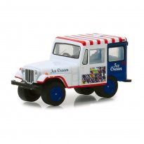 Imagem - Miniatura Carro Jeep DJ-5 (1975) - Ice Cream Truck - 1:64 - Greenlight Collectibles