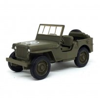 Imagem - Miniatura Carro Jeep Willys MB (1941) - Verde - 1:34-39 - Welly