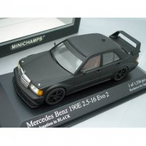 Imagem - Miniatura Carro Mercedes Benz 190E 2.5-16 Evo 2 - Homologation in Black - 1:43 - Minichamps