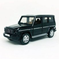 Imagem - Miniatura Carro Mercedes Benz G350d - C/ Luz e Som - California Action - Preto - 1:32 - California Toys