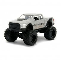 Imagem - Miniatura Picape Ford F-150 Raptor (2017) - Just Trucks - 1:64 - Jada Toys
