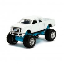 Imagem - Miniatura Picape Ford F-350 Super Duty (2008) - Just Trucks - 1:64 - Jada Toys