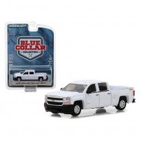 Imagem - Miniatura Picape Chevrolet Silverado 1500 (2018) - Blue Collar Collecction - Série 4 - 1:64 - Greenlight