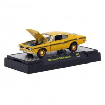 Imagem - Miniatura Carro Plymouth Barracuda 340 (1969) - Detroit-Muscle - 1:64 - M2 Machines