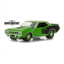 Imagem - Miniatura Carro Plymouth Hemi Cuda (1971) Graveyard Carz - Hollywood - 1:64 - Greenlight