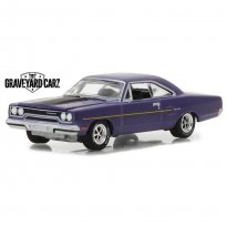 Imagem - Miniatura Carro Plymouth Road Runner (1970) Graveyard Carz - Hollywood - 1:64 - Greenlight