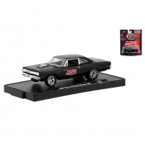 Imagem - Miniatura Carro Plymouth Road Runner 440 - 1969 - Auto-Drivers - Preto - 1:64 - M2 Machines