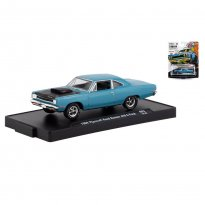 Imagem - Miniatura Carro Plymouth Road Runner 440 6-Pack (1969) - Auto-Drivers - 1:64 - M2 Machines