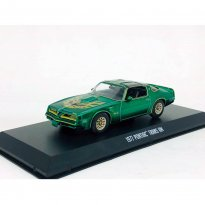 Imagem - Miniatura Carro Pontiac Trans Am (1977) Smokey And The Bandit - 1:43 - Greenlight (Chase / Green Machine)