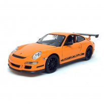 Miniatura Carro Porsche 911 GT3 RS - Laranja - 1:24 - Welly