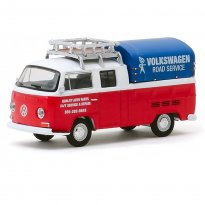 Imagem - Miniatura Carro Volkswagen Kombi T2 Type 2 Double Cab Pick-Up (1976) - Club V-Dub - Série 10 - 1:64 - Greenlight