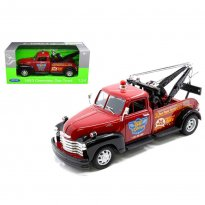 Imagem - Miniatura Picape Chevrolet 3100 Tow Truck Guincho - (1953) - 1:24 - Welly