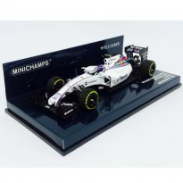 Imagem - Miniatura Fórmula 1 Williams Martini Racing Mercedes FW37 - #77 V. Bottas - (2015) - 1:43 - Minichamps