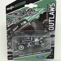 Imagem - Miniatura Carro Ford Model A (1929) - Outlaws - 1:64 - Maisto Design