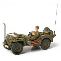 Imagem - Miniatura Jeep U.S General Purpose (Normandy, 1944) 1:32 - Forces of Valor - Unimax