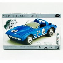 Imagem - Kit de Montar Carro Chevrolet Corvette Grand Sport #10 - 1:43 - Testors