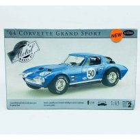 Imagem - Kit de Montar Carro Chevrolet Corvette Grand Sport #50 (1964) - 1:43 - Testors