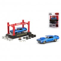 Imagem - Miniatura Carro Chevrolet Camaro RS/SS 396 (1969) Model Kit - 1:64 - M2 Machines