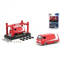 Imagem - Miniatura Carro Ford Econoline Van (1965)  Model Kit - 1:64 - M2 Machines