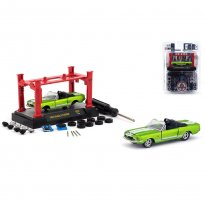 Imagem - Miniatura Carro Ford Shelby GT 500kR (1968) - Model Kit - Verde - 1:64 - M2 Machines