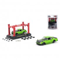 Imagem - Miniatura Carro Nissan Skyline GT-R (1971) Auto-Japan - Model Kit - Verde - 1:64 - M2 Machines