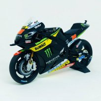 Imagem - Miniatura Moto Yamaha YZR-M1 - Monster Yamaha Tech 3 - #38 B. Smith - MotoGP (2016) - 1:12 - Minichamps
