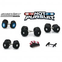 Imagem - Conjunto Multipack Rodas e Pneus - Hot Pursuit - 1:64 - Greenlight