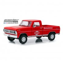Imagem - Miniatura Picape Ford F-100 (1971) Firestone - Running On Empty - 1:24 - Greenlight