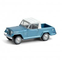 Imagem - Miniatura Picape Jeep Jeepster Commando (1970) - Blue Collar - Série 8 - 1:64 - Greenlight