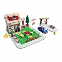 Imagem - Set Cafeteria - Build-N-Play - Fresh Metal - Maisto