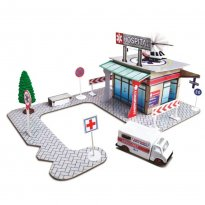 Imagem - Set Hospital -Build-N-Play - Fresh Metal - Maisto