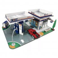 Imagem - Set Posto de Gasolina - Build-N-Play - Fresh Metal - Maisto